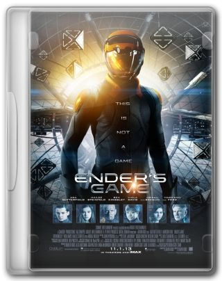 Capa do Filme Ender's Game - O Jogo do Exterminador