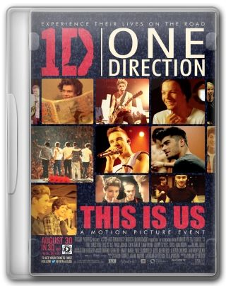 Capa do Filme One Direction This Is Us