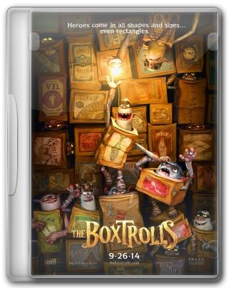 Capa do Filme The Boxtrolls