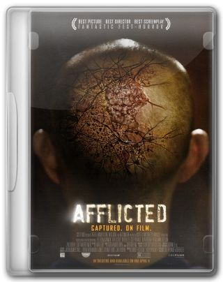 Capa do Filme Afflicted