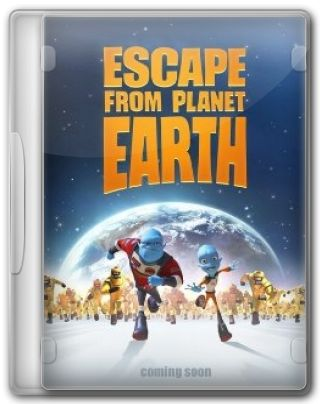 Capa do Filme Escape from Planet Earth