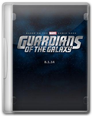 Capa do Filme Guardiões da Galáxia