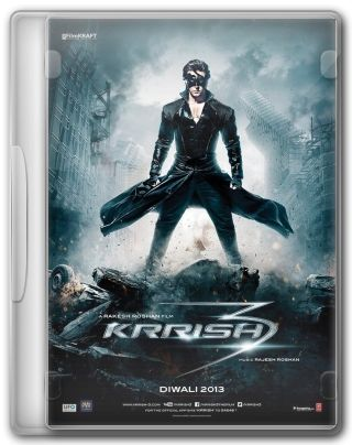 Capa do Filme Krrish 3