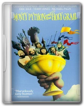 Capa do Filme Monty Python em Busca do Cálice Sagrado