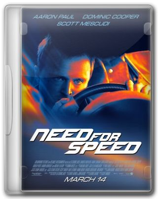 Capa do Filme Need for Speed: O Filme
