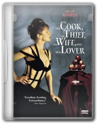 Capa do Filme O Cozinheiro, o Ladrão, Sua Mulher e o Amante