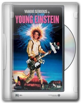 Capa do Filme O Jovem Einstein