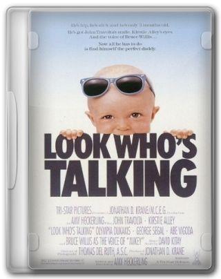 Capa do Filme Olha Quem Está Falando