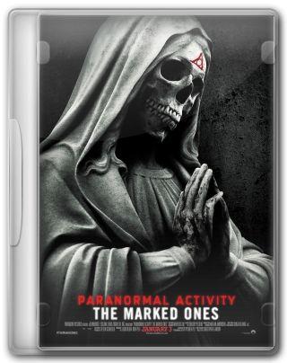 Capa do Filme Atividade Paranormal: Marcados pelo Mal