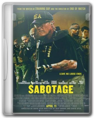 Capa do Filme Sabotage