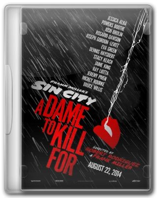 Capa do Filme Sin City A Dame to Kill For
