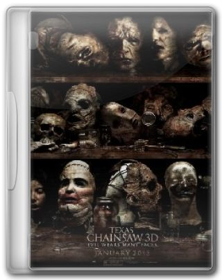 Capa do Filme Texas chainsaw