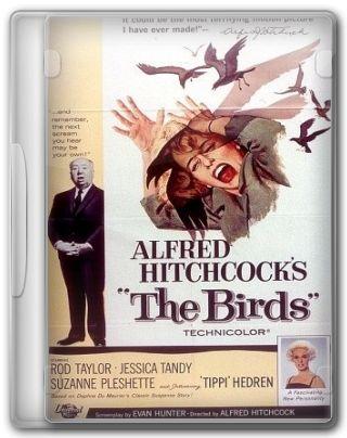 Capa do Filme Os Pássaros