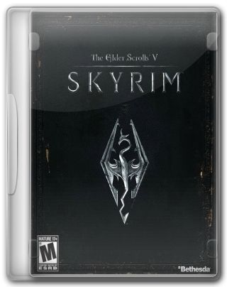 Capa do Jogo The Elder Scrolls V Skyrim