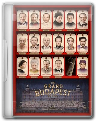 Capa do Filme The Grand Budapest Hotel