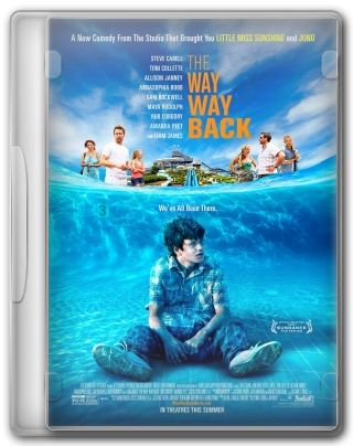 Capa do Filme The Way, Way Back
