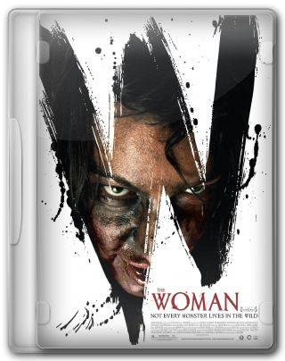 Capa do Filme The Woman - Nem Todo Monstro Vive na Selva