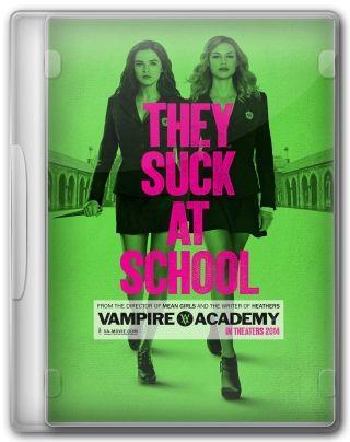 Capa do Filme Vampire Academy: O Beijo das Sombras
