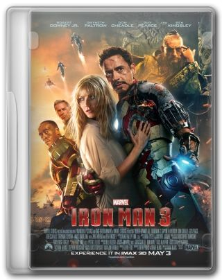 Capa do Filme Iron Man 3