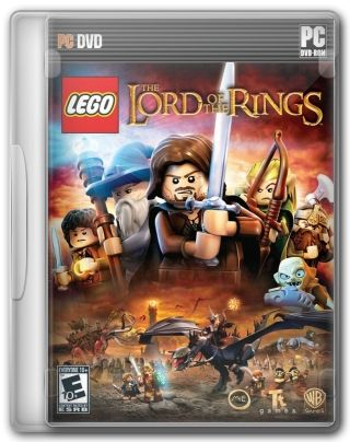 Capa do Jogo LEGO Lord of the Rings